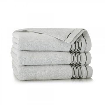 Ręcznik Grafik Stalowy 70 x 140 cm