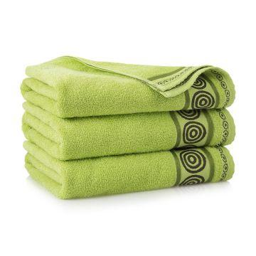 Ręcznik Rondo Zielony 70 x 140 cm