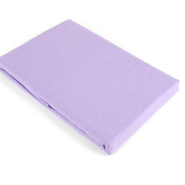 Prześcieradło bawełniane 205 x 220 - fioletowe