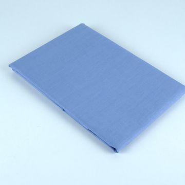 Prześcieradło bawełniane 205 x 220 - niebieskie